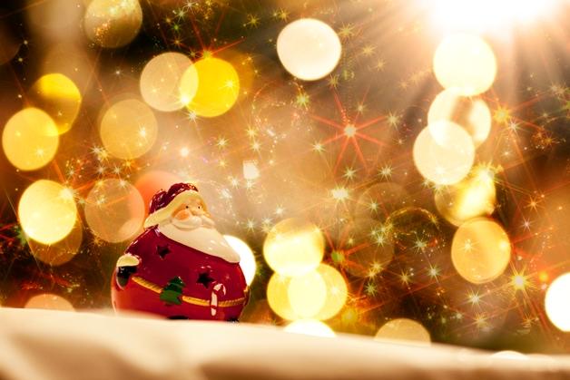 クリスマスといえばサンタ