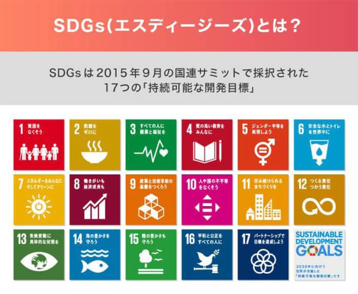 SDGs(エスディージーズ)とは?