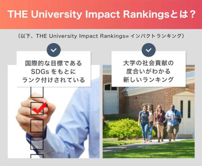 「THE University Impact Rankingとは?