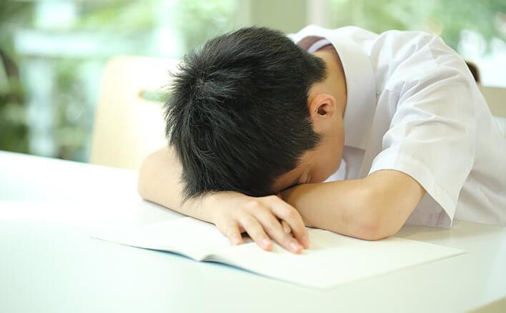 過ぎ 眠い 寝