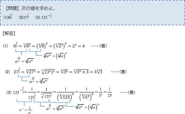 指数・対数関数 -3/2乗(マイナ...