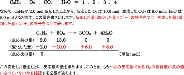 反応 式 エタノール 燃焼 完全 化学